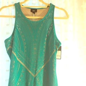 Green dress NWT
